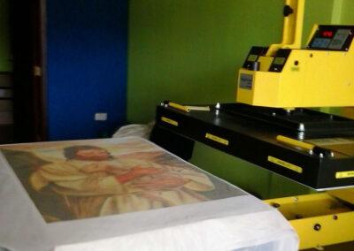 Printer finishing print